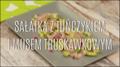 Sycąca sałatka z tuńczykiem i musem truskawkowym