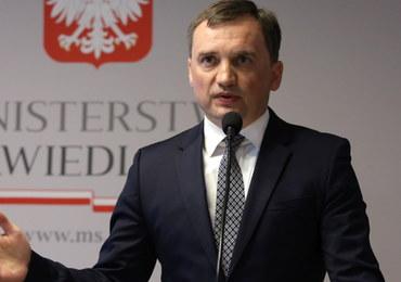 Ostra reakcja Ziobry na krytykę ze strony prezydenckiego eksperta