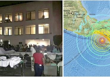 Ekstremalnie silne trzęsienie ziemi w Meksyku. Co najmniej 15 osób nie żyje