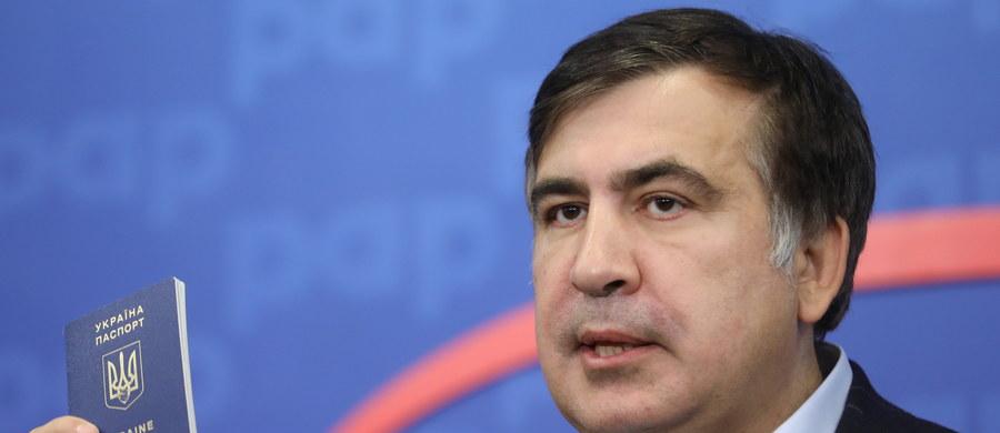 Były prezydent Gruzji i gubernator ukraińskiego obwodu odeskiego Micheił Saakaszwili, planuje 10 września przejść z Polski na Ukrainę. Pod koniec lipca polityk został pozbawiony ukraińskiego obywatelstwa.