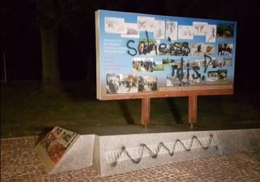 Zniszczyli tablicę upamiętniającą zwycięstwo Jana III Sobieskiego. Wpadli na gorącym uczynku