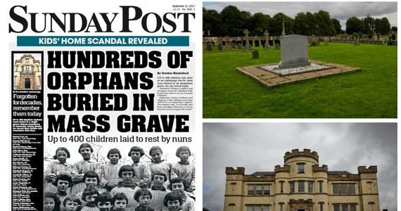 Nawet 400 dzieci zmarło w szkockim sierocińcu prowadzonym przez zakonnice, a następnie zostało pochowanych w nieoznaczonym, masowym grobie. Do tej pory prowadzące w Lanarkshire dom dziecka siostry przyznawały, że na pobliskim cmentarzu pochowanych zostało 158 dzieci.