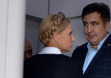"""Saakaszwili """"na rękach wniesiony na Ukrainę"""". Polityk chce przeprowadzić we Lwowie wiec"""