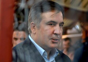 Premier Ukrainy: Incydent z Saakaszwilim to atak na naszą państwowość