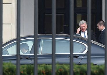 Prezydent spotkał się z marszałkiem Senatu. Rozmawiali o referendum konstytucyjnym
