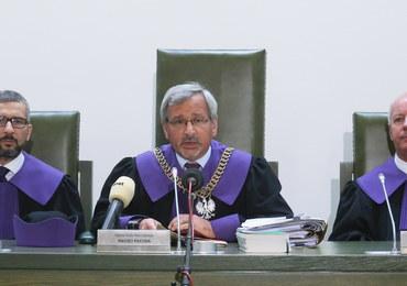 Sąd Najwyższy bada pytanie prawne ws. umocowania Julii Przyłębskiej jako prezesa TK