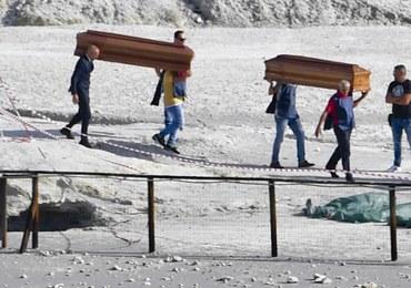 Tragedia w pobliżu Neapolu. 11-latek i jego rodzice wpadli do krateru wulkanu