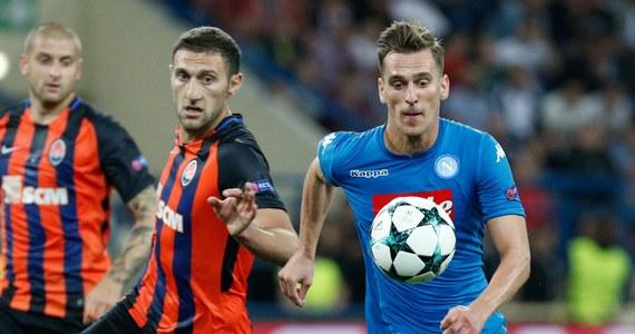 Arkadiusz Milik zdobył bramkę z rzutu karnego, ale jego Napoli uległo w Charkowie Szachtarowi Donieck 1:2 w 1. kolejce piłkarskiej Ligi Mistrzów. Nie powiodło się też Borussii Dortmund Łukasza Piszczka. Niemiecki zespół przegrał w Londynie z Tottenhamem 1:3.