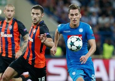 Liga Mistrzów: Porażki Borussii i Napoli, gol Milika