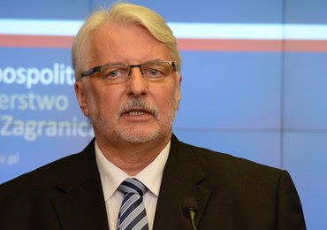 Waszczykowski o reparacjach od Niemiec: Potrzebna będzie decyzja wykraczająca poza MSZ
