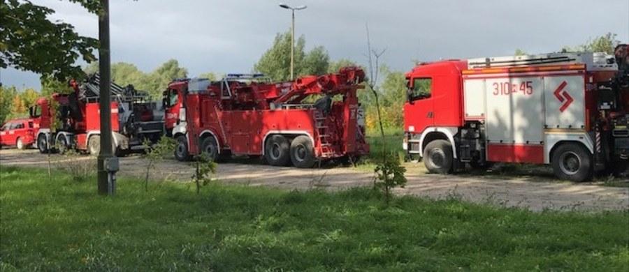 Kilkuset strażaków z czterech województw bierze udział w ćwiczeniach w powiecie braniewskim na Warmii. Na dzisiaj zaplanowano trzy scenariusze.