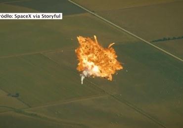 Sokół wylądował, ale wcześniej długo się uczył. SpaceX publikuje kompilację katastrof rakiety Falcon