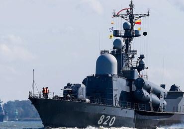 Manewry Zapad-2017. Na Morze Bałtyckie wpłynęły okręty Floty Bałtyckiej