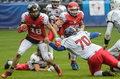 Polska - Szwajcaria 13:6 w meczu futbolu amerykańskiego