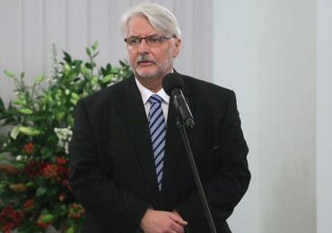 """USA: Waszczykowski zaapelował o powroty Polaków do kraju. """"Ojczyzna was potrzebuje"""""""