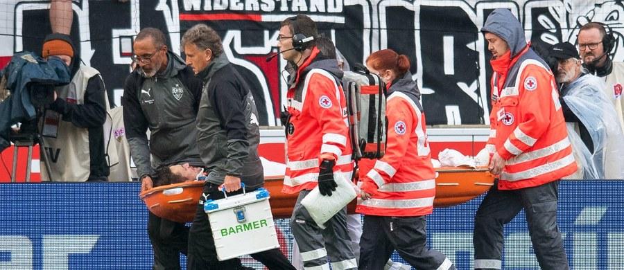 Kapitan zespołu Bundesligi Christian Gentner będzie w najbliższych dniach operowany - poinformował klub na swojej stronie internetowej. Piłkarz doznał bardzo poważnej kontuzji głowy w sobotnim meczu ligowym z Wolfsburgiem.