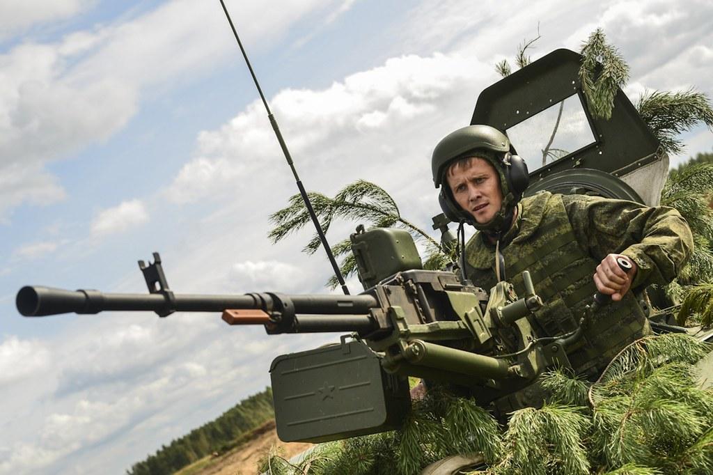 IGOR RUDENKO/ DEFENSE MINISTRY HANDOUT