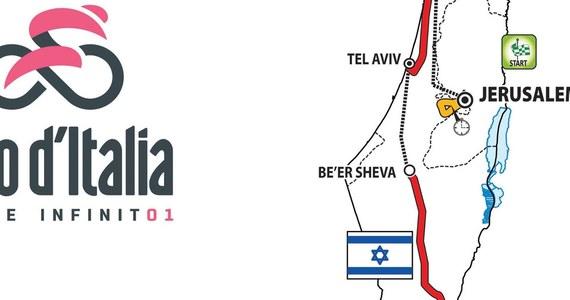 W poniedziałek organizatorzy potwierdzili, że przyszłoroczny wyścig kolarski Giro d'Italia rozpocznie się w Izraelu. Zgodnie z zapowiedzią w tym kraju zostaną rozegrane trzy pierwsze etapy.
