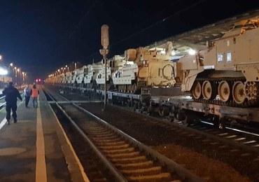 Wypadek pociągu z amerykańskimi wozami bojowymi. Jest postępowanie prokuratury