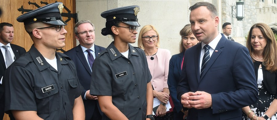 Rosja nie pomaga w znalezieniu rozwiązania kryzysów światowych i eksportuje polityczną korupcję – mówił Andrzej Duda do kadetów w West Point. Prezydent od poniedziałku przebywa w Stanach Zjednoczonych.