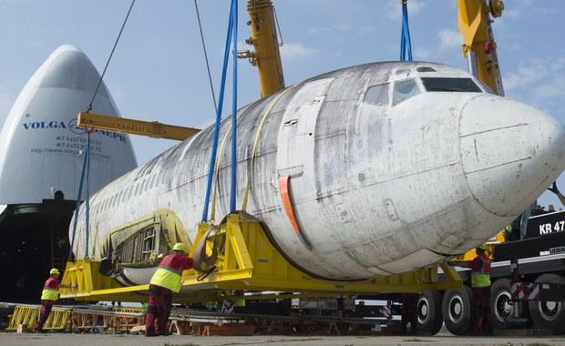 """Niemiecki samolot pasażerski """"Landshut"""", porwany 40 lat temu przez terrorystów, powrócił w sobotę do Niemiec. Historyczna maszyna, odbita z rąk porywaczy w Mogadiszu przez niemieckich komandosów, trafi do muzeum w Friedrichshafen nad Jeziorem Bodeńskim."""