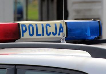 Policyjne strzały i obława na Mazowszu. Podejrzany próbował przejechać funkcjonariuszy