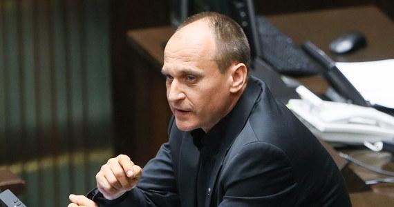 """""""Ja jestem bardzo zadowolony z tej wypowiedzi, to jest ewidentnie wprowadzenie czynnika obywatelskiego do kontroli nad sądami i takie powiedzenie """"'Stop"""" partiokracji w sądach. Nie może być tak, by jedna  partia miała kontrolę nad sadownictwem"""" - powiedział w rozmowie z RMF FM Paweł Kukiz, komentując przedstawione przez prezydenta Andrzeja Dudę projekty ustaw sądowych. Jak dodał, wyśle przedstawicieli Kukiz'15 na rozmowy o zmianach w sądownictwie, które rozpoczną się dziś o godz. 16 u prezydenta."""
