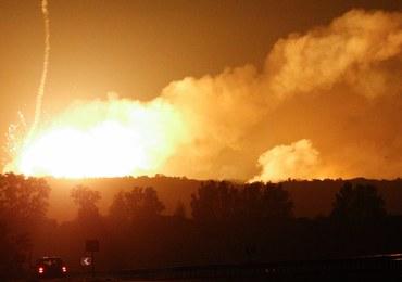 """Pożar w składzie amunicji na Ukrainie. """"To nie była dywersja"""""""