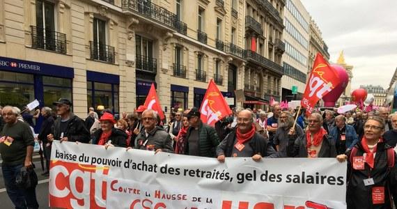 Wielka fala protestów francuskich emerytów przeciwko polityce prezydenta Emmanuela Macrona. Demonstracje odbywają się na ulicach miast całej Francji. Emeryci protestują przeciwko zapowiedzianej przez szefa państwa podwyżce podatków.