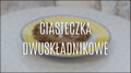 Tanie i zdrowe ciasteczka dwuskładnikowe