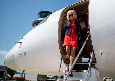 Zbyt seksowne stroje Brigitte Macron. Internauci żądają, by przestała nosić mini