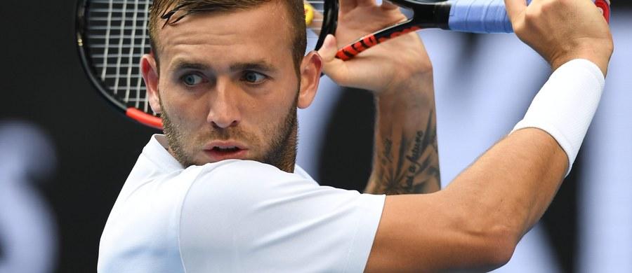 Brytyjski tenisista Daniel Evans został zawieszony na rok - poinformowała międzynarodowa federacja (ITF). Media już w czerwcu informowały, że w jego organizmie znaleziono kokainę. 27-letni zawodnik do rywalizacji będzie mógł wrócić 28 kwietnia 2018 roku.