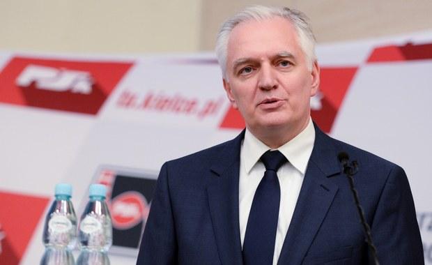 Wkrótce koalicja rządowa się poszerzy; Polska Razem zamierza wraz ze środowiskami wolnorynkowej prawicy powołać nowe ugrupowanie, które będzie częścią obozu Zjednoczonej Prawicy - powiedział wicepremier Jarosław Gowin we wtorek w TVN24.