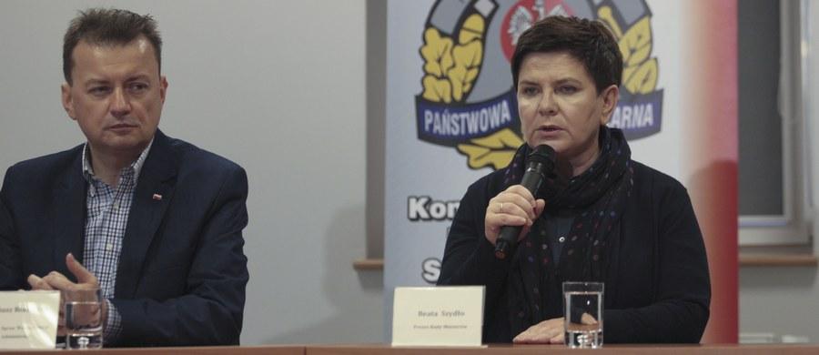 Wszystkie osoby, które zostały poszkodowane w wyniku wichur, otrzymają pomoc - zapewniła premier Beata Szydło. Szefowa rządu uczestniczyła w posiedzeniu sztabu antykryzysowego w Zielonej Górze.