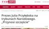 Wielki mecz Julii Przyłębskiej. Prezes TK awansowała na mundial