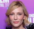 Cate Blanchett w złotej sukni