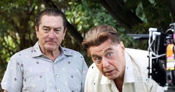 """Al Pacino i Robert De Niro znowu razem na planie filmowym. Pracują na planie u Martina Scorsese i grają w opartym na faktach filmie """"The Irishman""""."""