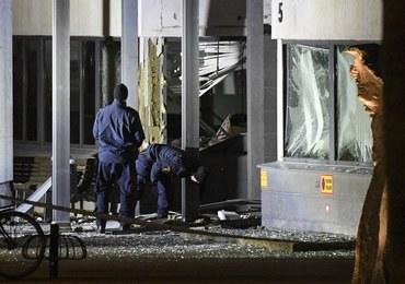 """Wybuch na posterunku policji w Helsingborgu. """"Potężna detonacja, olbrzymi huk"""""""