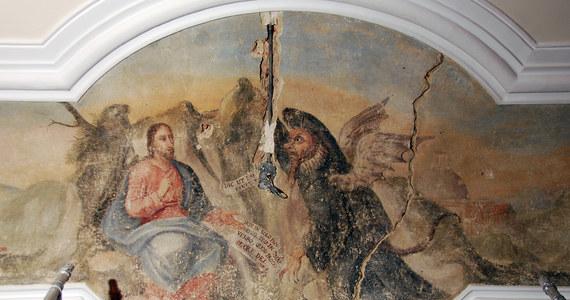 XVIII-wieczny fresk przedstawiający kuszenie Chrystusa przez szatana odkryto na suficie jednej z sal Urzędu Miasta Poznania. Na ślady malowidła natrafiono prawie 20 lat temu, jednak dopiero teraz możliwe było jego całkowite odsłonięcie.