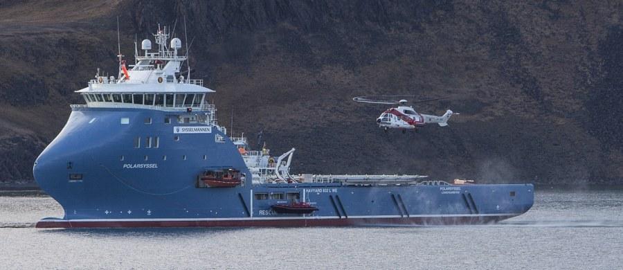 Rosyjski śmigłowiec Mi-8 z ośmioma osobami na pokładzie runął do morza w odległości 2 do 3 kilometrów od miejscowości Barentsburg na zachodnim wybrzeżu arktycznej wyspy Spitsbergen - poinformowały norweskie służby ratownicze.