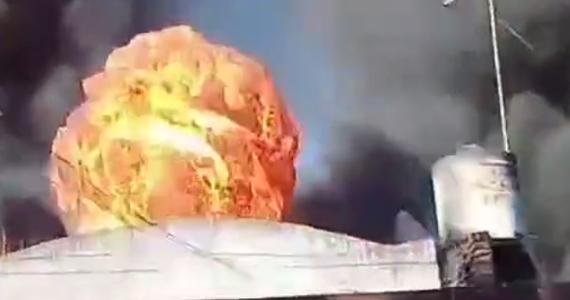 W fabryce tworzyw sztucznych w argentyńskim San Justo doszło do wielkiego pożaru. Silne wstrząsy towarzyszące wybuchowi zniszczyły kilka pobliskich budynków mieszkalnych.