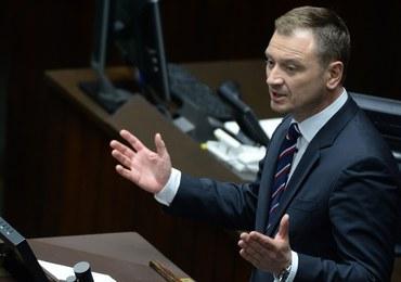 Prezydium Sejmu zdecydowało o obniżeniu uposażenia posła Nitrasa