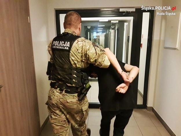 /foto. Policja w Rudzie Śląskiej /