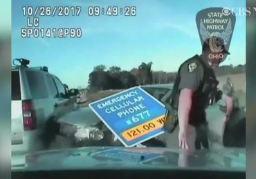 Zabrał mamie auto, pędził 160 km/h. Pościg za 10-letnim piratem drogowym