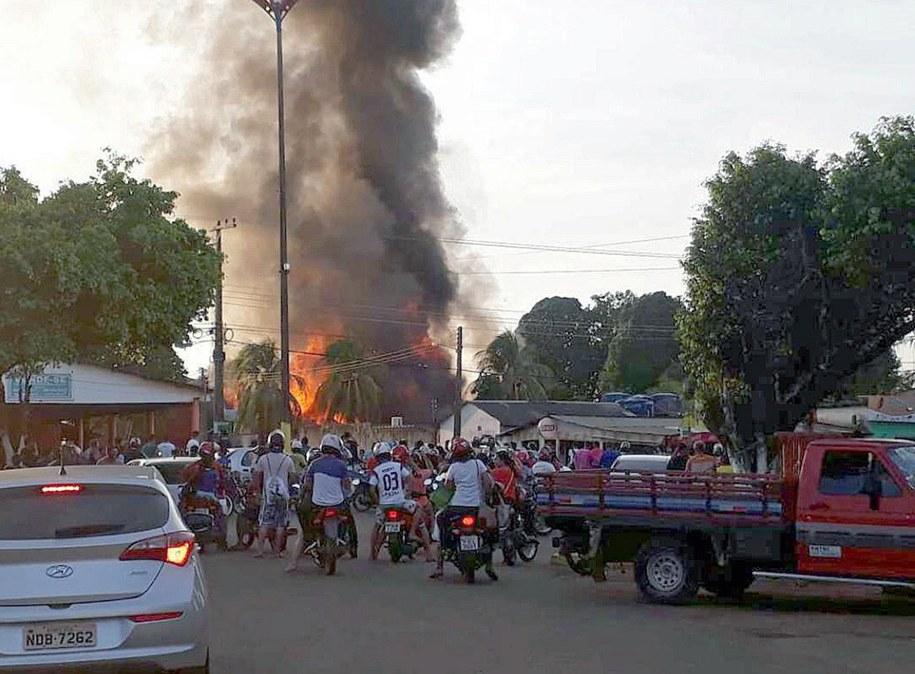 /BRAZILIAN FIREFIGHTERS /PAP/EPA
