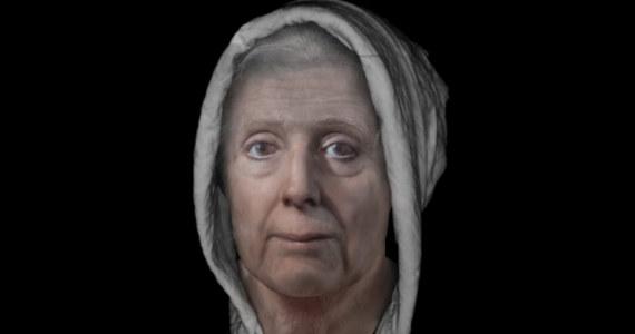 """Szkoccy uczeni zrekonstruowali twarz XVIII-wiecznej """"czarownicy"""". Lilias Adie z miejscowości Fife zmarła w więzieniu w 1704 roku. Uczeni uważają, że to jedyna podobizna kobiety skazanej na śmierć na stosie, jaką udało im się odtworzyć."""