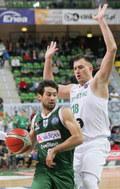 Liga Mistrzów FIBA: Stelmet Zielona Góra - Sidigas Avellino 90:79