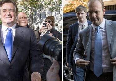 Współpracownicy Trumpa, Manafort i Gates, pozostaną w areszcie domowym