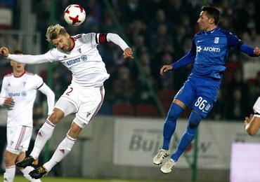 Ekstraklasa piłkarska: Górnik liderem na półmetku