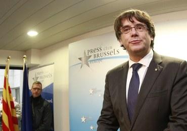 Były premier Katalonii oddał się w ręce belgijskiej policji